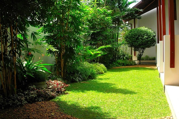 House of green completed gardens dumind 1 39 garden for Home landscape design sri lanka